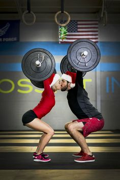Best Christmas card #crossfit