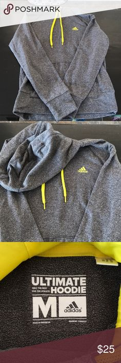 Adidas Hoodie Worn a handful of times. Still in great condition. Super soft and comfy. adidas Sweaters