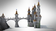 The Lonely Castle Minecraft Project People enjoy Minecraft due to 3 easy things, control, replayability Minecraft Castle Blueprints, Minecraft Building Guide, Minecraft Plans, Minecraft City, Amazing Minecraft, Cool Minecraft Houses, Minecraft Tutorial, Minecraft Creations, Minecraft Designs