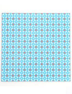Bodenfliesen, PVC, Blue Stars, blau 1