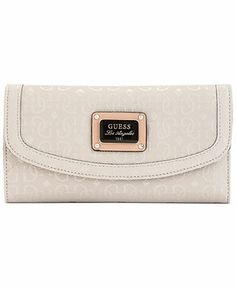 GUESS Wallet, Specks Multi Clutch - Wallets & Wristlets - Handbags & Accessories - Macy's