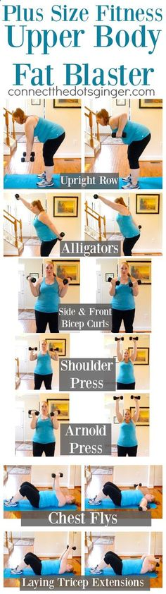 PLUS SIZE FITNESS | Upper Body, Fat Blasting, Workout | At Home Exercise | Moms | Workouts for Women | beginner workouts