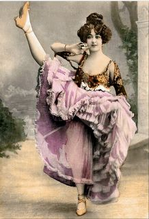 vintage can can girl Vintage Burlesque, Vintage Circus, Vintage Photographs, Vintage Images, Saloon Girls, This Girl Can, Le Moulin, Flappers, Cabaret