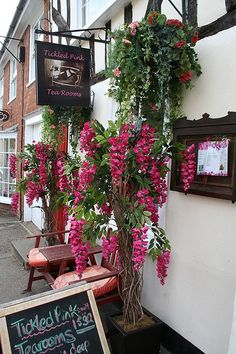 Tickled Pink Tea Rooms, Suffolk... would love to visit this one!!!!