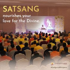 Satsang nourishes your love for the Divine.	#SadguruWhispers #Quotes #QOTD #Sadguru #Guru #Divine #Love #SpiritualQuotes #QuoteOfTheDay Spiritual Quotes, Booklet, Quote Of The Day, Love Quotes, Prayers, Spirituality, Spirit Quotes, Qoutes Of Love, Quotes Love