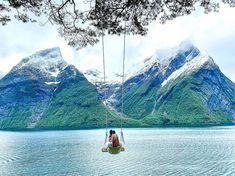 "Malin Kjølseth ☼ on Instagram: ""Altså, hva kan man si 😍🙏 #trandal"" Hiking, Mountains, Photo And Video, Nature, Travel, Instagram, Walks, Naturaleza, Viajes"