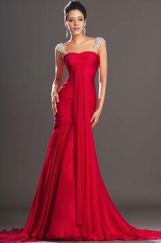 eDressit 2013 Neu Wunderbar Passend Rot Abendkleid