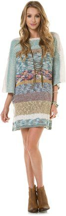 INDAH ATLAS KNIT FRINGE DRESS | Swell.com