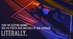 #nomisugi Tokyo campagna contro l'abuso di alcol
