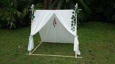 Hobby Carpintería: Cómo elaborar una Tienda de Camping en casa