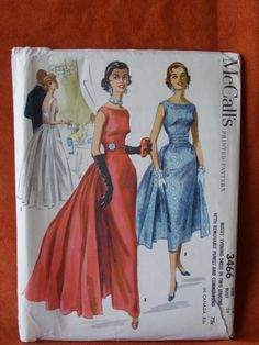 McCall's 3466: wow! ~ wowee! That's what I say!  And can you even imagine getting a pattern like this today, for just 75 cents?!  I wish it were so...