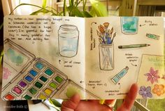 @Jenny Frith has a great blog about journaling...Gratitude Journal #art