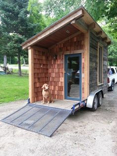Timber Frame Tiny House by Red Lion Workshop - http://www.tinyhouseliving.com/timber-frame-tiny-house-red-lion-workshop/