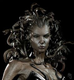 Medusa. Turned into a Gorgon after being raped. Some say Athena did it as a punishment. However, the goddess had a deep misstate for men, she would not punish an innocent woman for the disgusting actions of men. She gave Medusa the power to turn men that would use her into stone. She gave her the power to defend herself!