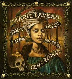 Marie Laveau Art by Magwire Art