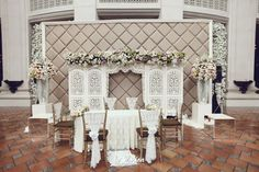 Decoration: Vica Decor // Photographer: Soe&Su and Le'Motion Photo // Kebaya: Ferry Sunarto // Makeup by Lizzie Parra - www.thebridedept.com