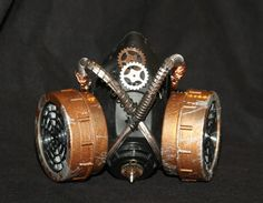 Steampunk Sci fi Mask by Sector9Industrial on Etsy, $35.00