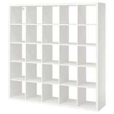 Etagere Kallax Ikea, Ikea Kallax Shelf Unit, Ikea Kallax Regal, Wall Shelf Unit, Wall Shelves, Ikea Shelves, Shelving Units, Kallax 5x5, Ikea Regal