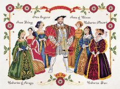 DMC Cross Stitch Kit - Kings And Queens - Henry VIII DMC http://www.amazon.co.uk/dp/B0046ZJ1UU/ref=cm_sw_r_pi_dp_E8Y6wb0YQZ39N