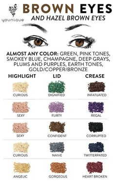 If you want to enhance your eyes and increase your appearance, having the very best eye make-up tips and hints can help. You'll want to make certain you put on make-up that makes you look even more beautiful than you are already. Eye Makeup Tips, Skin Makeup, Eyeshadow Makeup, Beauty Makeup, Eye Makeup For Hazel Eyes, Eyeshadow For Brown Eyes, Makeup Ideas, Younique Eyeshadow, Quick Makeup