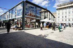 Torvehallerne - quality food market at Israels Plads, Copenhagen
