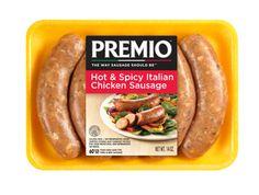 Premio Fresh Hot and Spicy Italian Chicken Sausage Links
