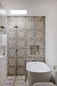 Tuesday Tips - TREND ALERT Patterned Tiles - Hege in France