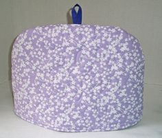 Lavender  Quilted Dome Tea Cozy with Trivet by shirleysewdesigns