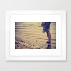 ocean & you Framed Art Print