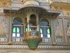 India. Rajasthan. Udaipur Palace.  Sylviane A. Diouf
