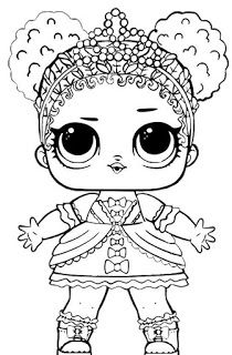 Little Lids Siobhan Lol Doll Colouring Pages Lol Dolls Colouring Pages Coloring Pages