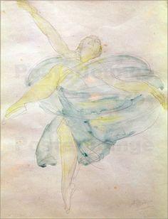 Auguste Rodin - Tänzerin mit einem Schleier