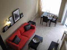 Living Room at The Crest at Fort Lee in Fort Lee, NJ