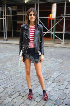 Leandra Medine y su pasión por las (mini)faldas