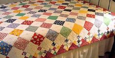 The Perfect Pattern for Those 5″ Charm Packs! Do you love the look of vintage patchwork quilts? Replicate the look with this super easy quilt pattern. Choose reproduction fabrics or use up some of those 5″ charm packs you may be collecting. Easily change the look of the quilt by coordinating the colors of the …