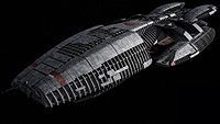 Galactica (BS 75) is a veteran battlestar and the last of her kind still in service with the Colonial Fleet at the time of the destruction of the Twelve Colonies. Built during the early days of the Cylon War, she remains the only military vessel without integrated computer networks.