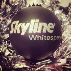 We're getting into the festive spirit here at Skyline Whitespace!