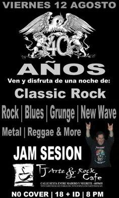 classic rock jam