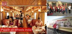 Palace on Wheels India - An extravagant train.