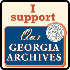 """Superstarchivist: My Letter to Georgia Governor Nathan Deal  """"....It seems that further discussions need to be held... before decimating the office required by state law to.... 'be open for a personal inspection by any citizen of this state at a reasonable time and place, and those in charge of such records shall not refuse this privilege to any citizen.' Further reductions in the Archives' staff and elimination of open hours do not fulfill this mandate."""""""