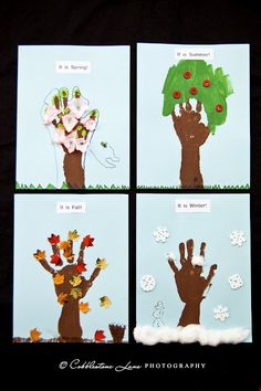 This would be a great and fun art project to represent what each season's characteristics are. Students can take it further by drawing a person wearing the appropriate clothing for the given season.