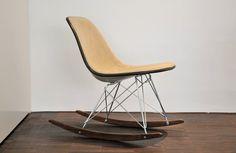eames/herman miller rocking chair