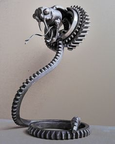Steampunk King Cobra by ~metalmorphoses on deviantART