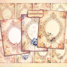 Excited to share the latest addition to my #etsy shop: FLOWER FRAMES digital collage sheet, printable graphic design for paper craft http://etsy.me/2CqhHVI #supplies #cardmakingstationery #flowerframes #digitalcollage #collagesheet #printable #graphicdesign #papercraft