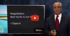 Over the next few weeks, I will cover as much as I can to help you overcome your negotiation obstacles.   Most negotiation comes from a difference of opinions, beliefs, or positions. This can be referred to as an objection. So before we get into negotiation, let's review five steps to handling objections. When followed, they will often work and when they do… negotiation is unnecessary.