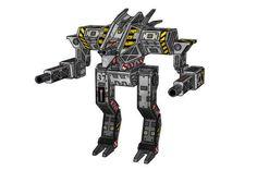 Battletech - Archangel OmniMech Free Paper Model Download - http://www.papercraftsquare.com/battletech-archangel-omnimech-free-paper-model-download.html#Archangel, #Battletech, #Mech, #OmniMech, #SciFi