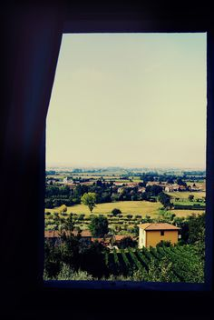 Out the window of our B&B in Cortona, Italy (Tuscany)