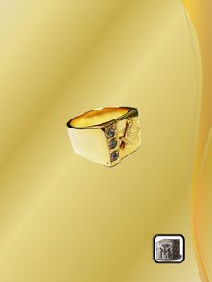 Anillo de Bronce con Piedras Porsche Logo, Class Ring, Rings, Bronze, Steel, Rocks, Red, Ring, Wire Wrapped Rings