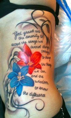 new Ideas tattoo ideas female small hip awesome Dope Tattoos, Baby Tattoos, Tatoos, Tattoo Under Chest, Chest Tattoo, Tattoos For Women Small, Small Tattoos, Serenity Prayer Tattoo, Rose Tattoo On Side