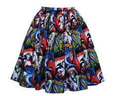 Horror Movie Characters Skirt   Handmade In Any Size  choice